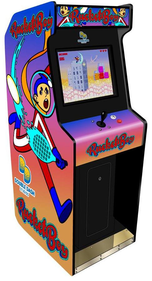 Fanart turns into Arcade art! - Sky Racket by DoubleDash - Game Jolt