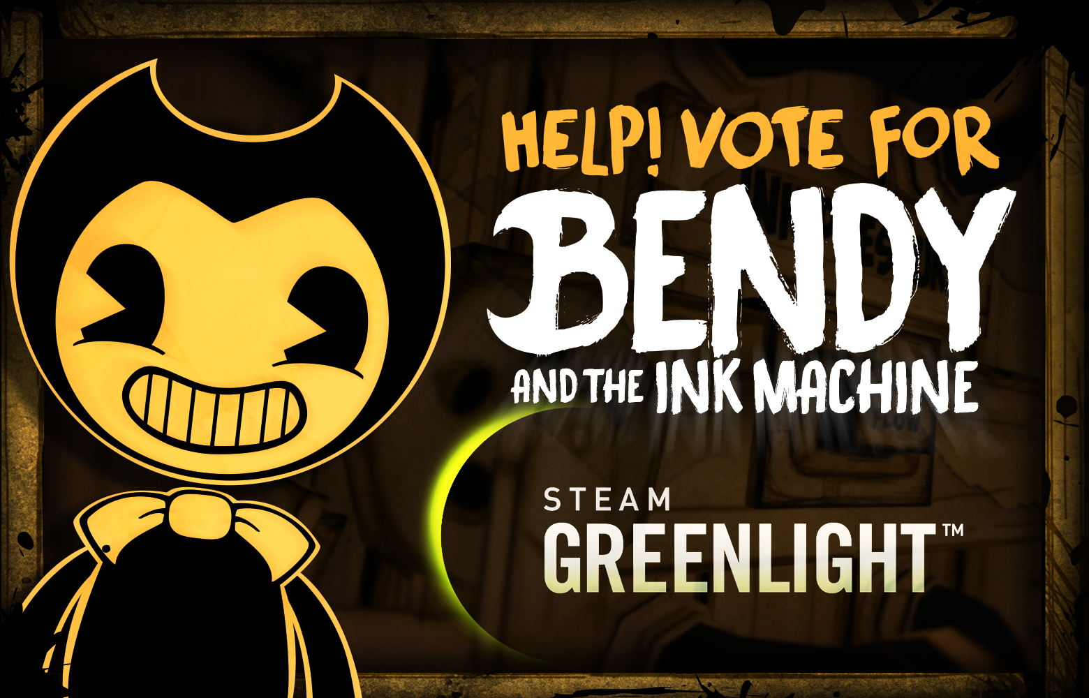 VOTE for Bendy on Steam Greenlight! :D on Game Jolt