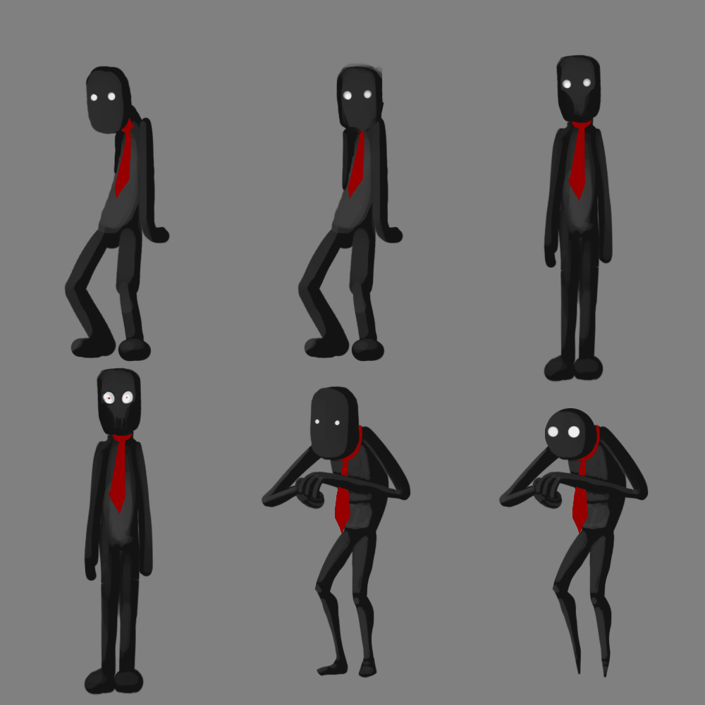 Game for coworkers - Some Images The Team Made For The In Game Characters