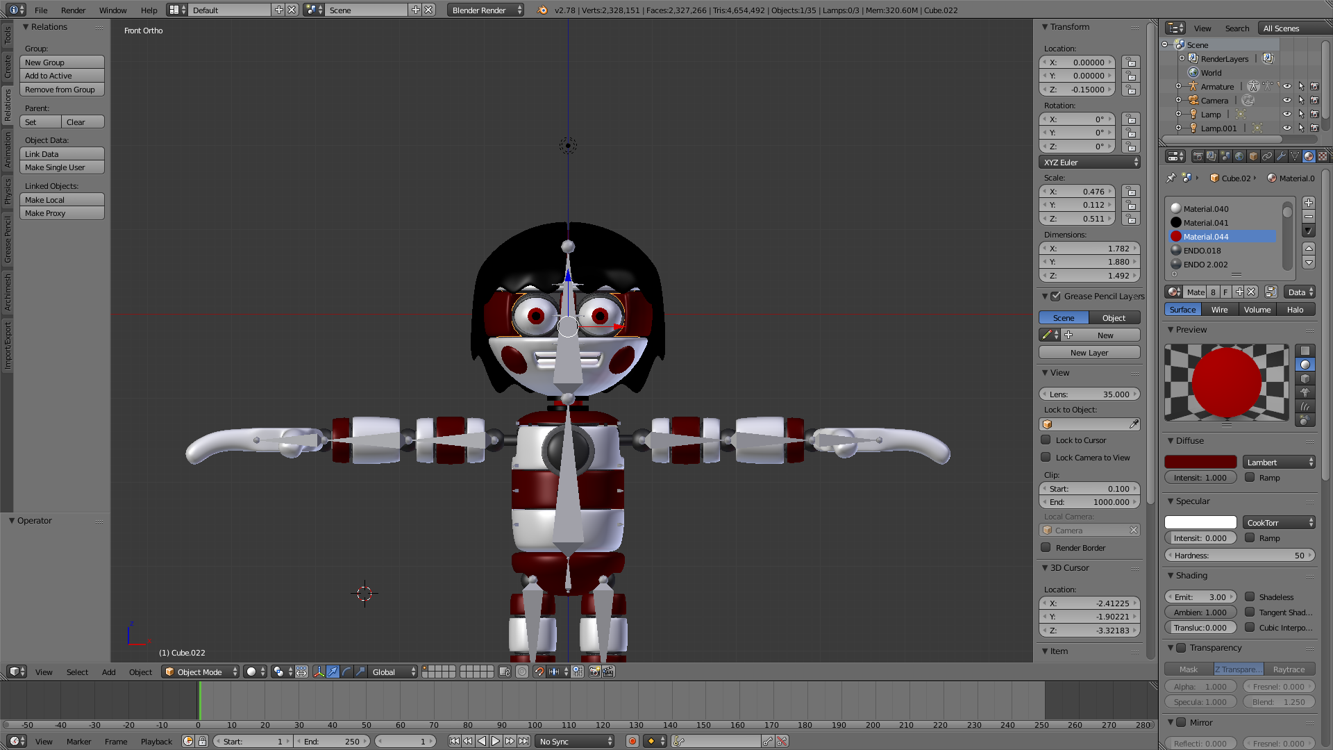 Horror multiplayer retro survival fangame fnaf view all - High Poly Animatronic Model For Some Reason I Tried To Export The Model To A 3ds File But It Comes Up With An Error