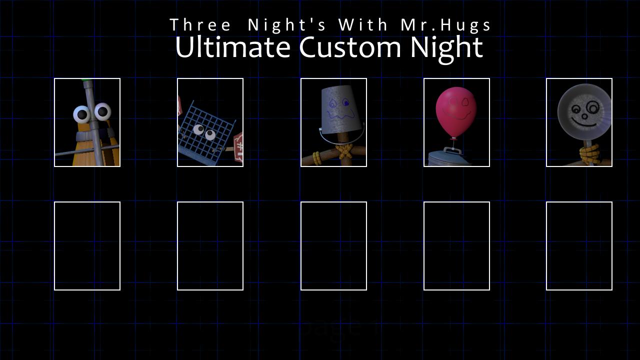 Rejected Custom Night Roster Credits Mechanics – Migliori Pagine da