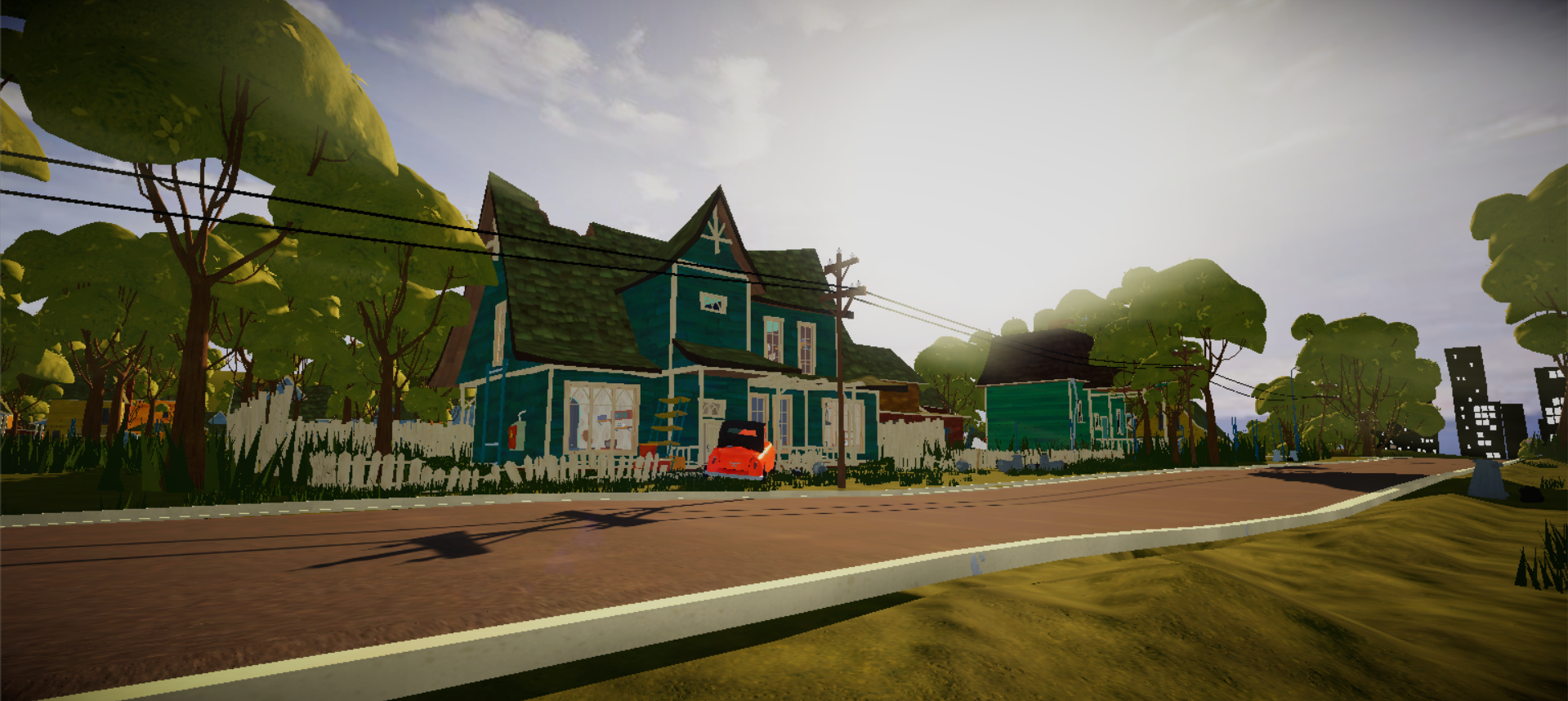 Are you ready for this? - Hello Neighbor Unity MOD by Tudo Rip Games