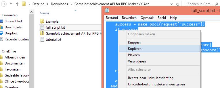 GameJolt achievement API for RPG Maker VX Ace [BETA!] - Game