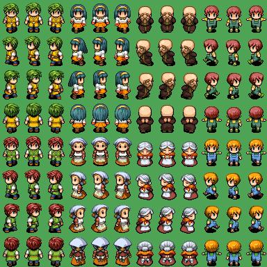 RPG Maker Character Sprite creator - Game Jolt