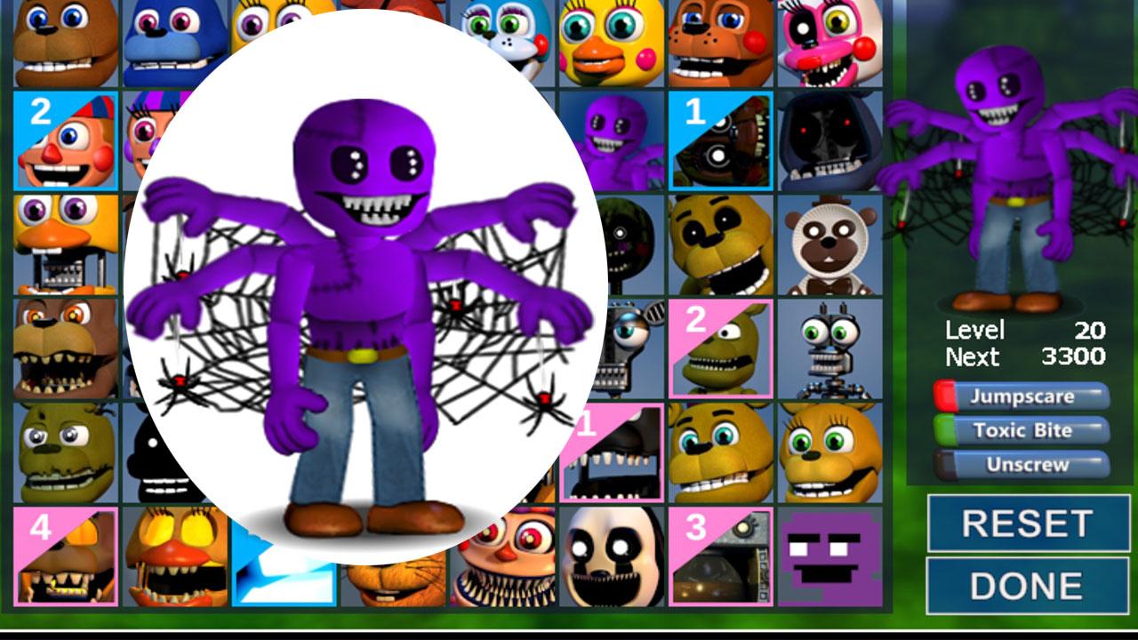 Fnaf World Mod (purple guy) by max_games_pepe - Game Jolt