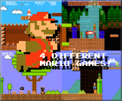 Super Mario Bros - Lost Land by Bloodser - Game Jolt