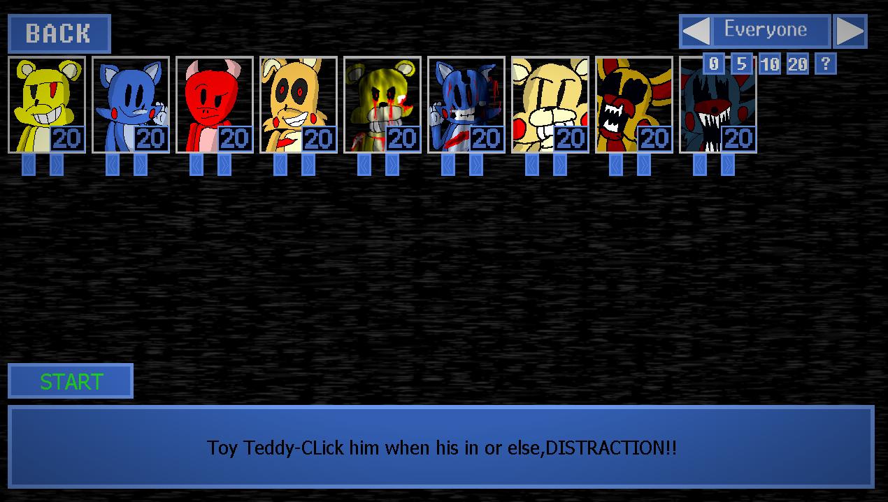 TEDDY SHIFT ULTIMATE CUSTOM NIGHT 2 (DEMO 2) by 8-Bit Credible craft